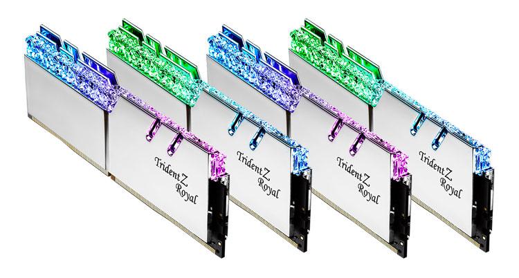 Mémoire vive - ram DDR4 trident Z